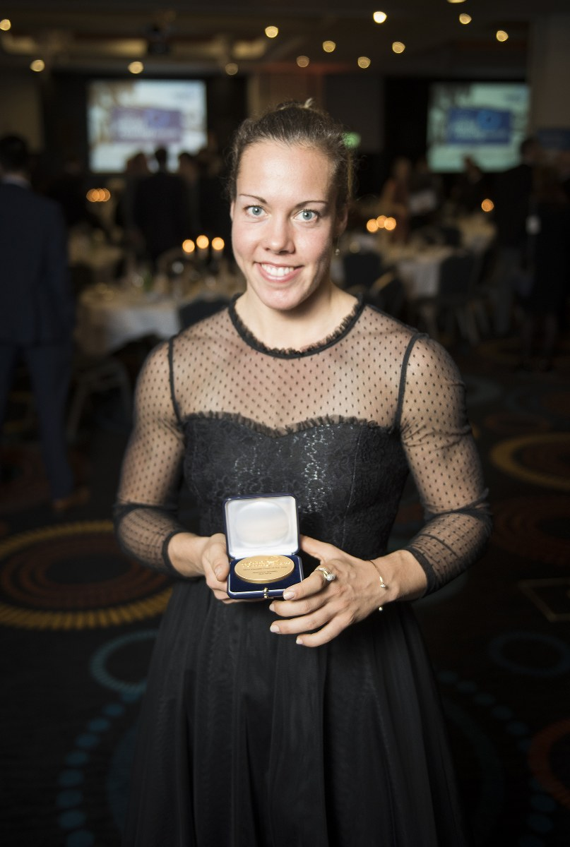 Jeannine Gmelin (World Rowing Female Crew of the Year 2017)