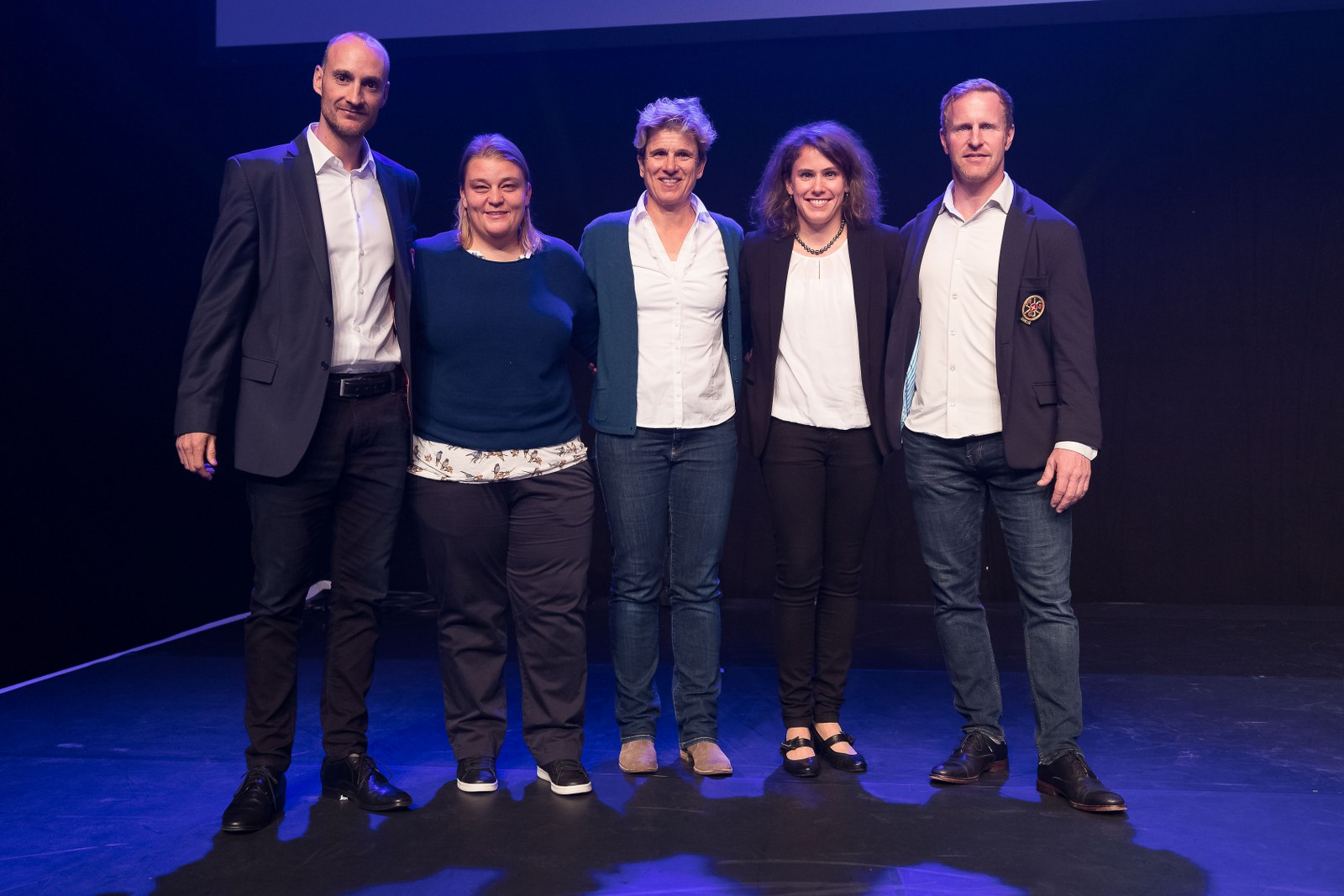"Nominierte ""Swiss Olympic Coach Award, Team-/Mannschaftssport"""